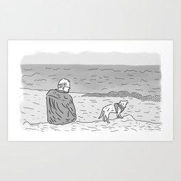 Jeff & Chet Art Print
