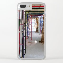 Construction Clear iPhone Case