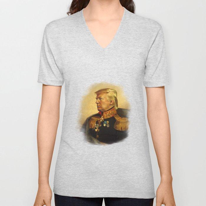 Donald Trump - replaceface Unisex V-Ausschnitt
