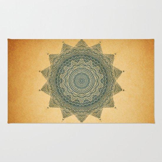 Sun Symbol Rug
