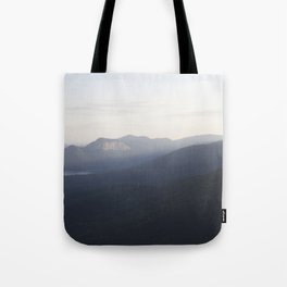 Land: Mountainous Tote Bag