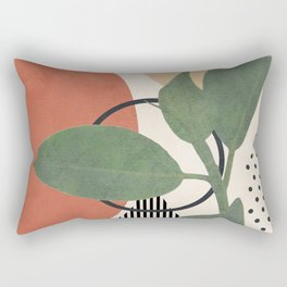 Nature Geometry III Rectangular Pillow
