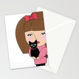 Mss Cat Stationery Cards