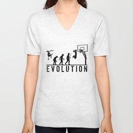 Evolution Basketball Unisex V-Neck