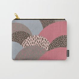 Abstract Autumn Hills Pattern Carry-All Pouch