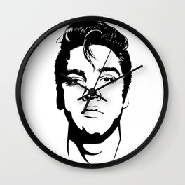 The King never dies Wall Clock