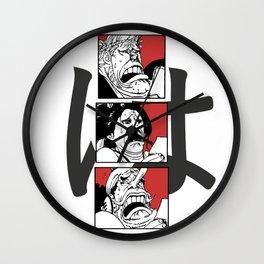 One Piece Ha Robin Usopp Franky Reaction Wall Clock