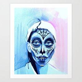 Muertos Me Art Print