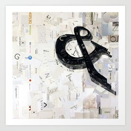 ampersand 02 Art Print
