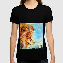 The Lion and the Rat - Animal - by LiliFlore T-shirt