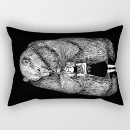 Two bears Rectangular Pillow