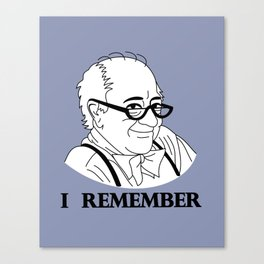 I Remember Canvas Print