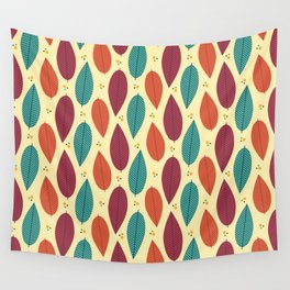 When the leaves come falling down Wall Tapestry