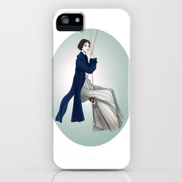 Fashion Illustration - Pride & Prejudice iPhone Case