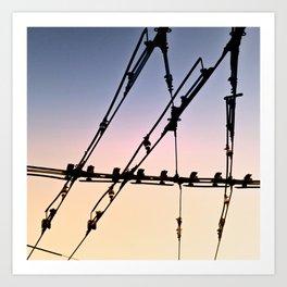 Network Art Print