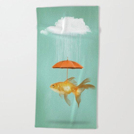 Fish Cover II Beach Towel