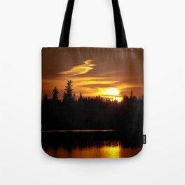Northern Sunset 001 Tote Bag