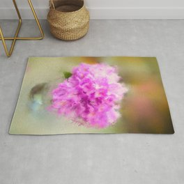 Pink Rhododendrons  Rug