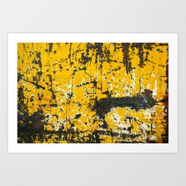 Old steel texture, surface and background Art Print