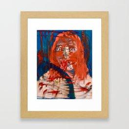 Blood Boil Framed Art Print