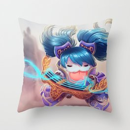 Sona Poro League Of Legends Throw Pillow