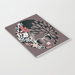 Afro Diva : Sophisticated Lady Pale Pink Peach Taupe Notebook