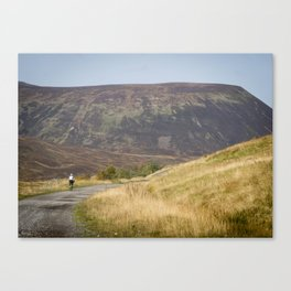 Cycling the Moors Canvas Print