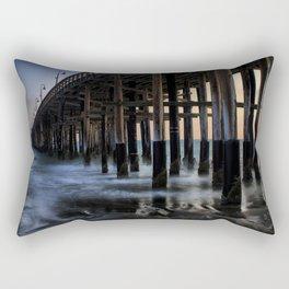 Sunset Pier Rectangular Pillow