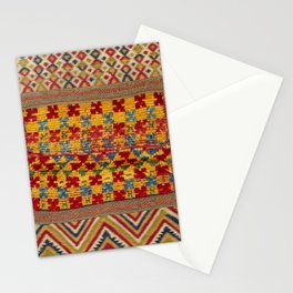 Ait Ouaouzguite Berber Antique Moroccan Saddle Rug Print Stationery Cards