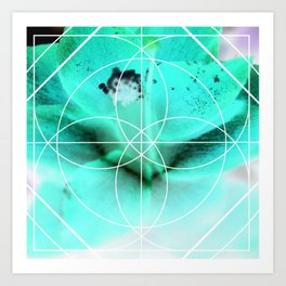 Negitive Nature Art Print