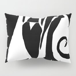 90 Abstract Print Artwork Pillow Sham