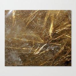 Golden Rutile Canvas Print