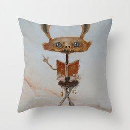 the teacher  Throw Pillow