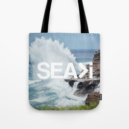 SEA>i | HEAVEN'S POINT Tote Bag