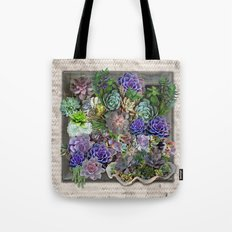 South Africa's Succulents Tote Bag
