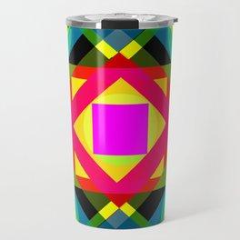 PINK SQUARE Travel Mug