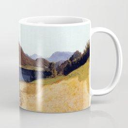 Ferdinand Waldmüller Lake Fuschel with Schafberg Coffee Mug