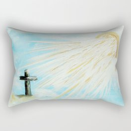 It's Impossible to Outgive God Rectangular Pillow