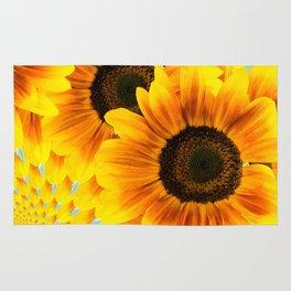 Spinning Sunflowers Rug