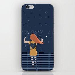 artista viaggiatore iPhone Skin