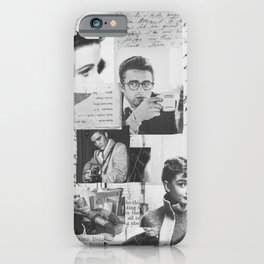 Creative Portrait Collage of 1950's Icons iPhone Case