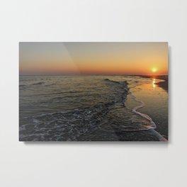 Folly Beach Metal Print