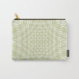 warped bandanna. pale sage Carry-All Pouch