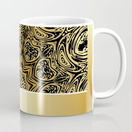 Background with golden floral Coffee Mug
