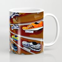 runner Mugs featuring Runner by LeicaCologne Germany