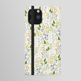 Forget-Me-Not iPhone Wallet Case
