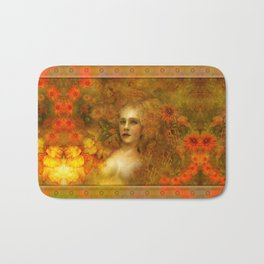 """Ofelita de Oro"" (From ""Death, Life, Hope"") Bath Mat"