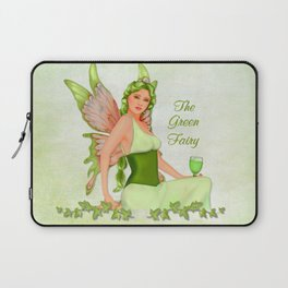 Absinthe the Green Fairy Laptop Sleeve