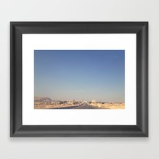 The Way to Jericho Framed Art Print