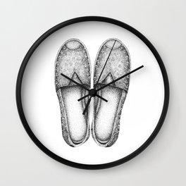 Summer Espadrilles Wall Clock